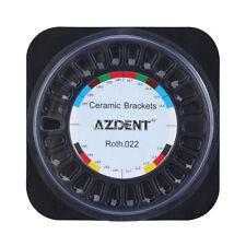 Azdent Dental Orthodontic Ceramic Bracket Braces 55roth Slot022 Hooks 3 4 5