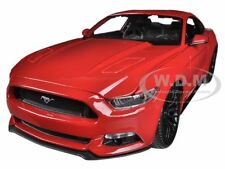 2015 FORD MUSTANG GT 5.0 RED 1/18 DIECAST CAR MODEL BY MAISTO 31197