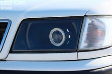Audi 100 C4 Clear Polycarbonate Covers Headlight for retrofit. Pair 4mm