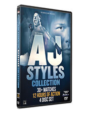 "Official TNA - The Essential ""Phenomenal"" AJ Styles Collection (4 Disc DVD Set)"