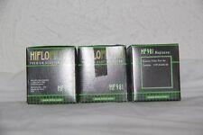 HIFLO FILTRO  3  Filtres a Huile HF 981 Scooter MBK CITYCRUISER 07-11