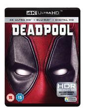 Deadpool 4k Ultra HD UV Copy 2016 Blu-ray 5039036076920