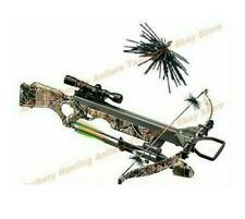 Camo Crossbow Bow String Silencers & Dampeners Archery 4 pcs Pack Easy Tie On
