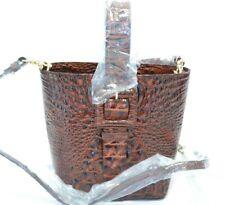 Brahmin Pecan Melbourne Faith Leather Shoulder Bag $265.00 #515