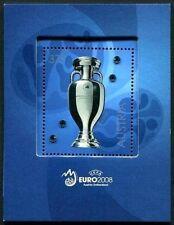 "Austria - "" SWAROVSKI ~ UEFA EURO 2008™ "" MS with Swarovski Crystals !!"