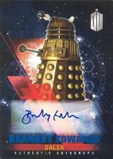 '16 Doctor Who Timeless Blue Foil Parallel Autograph Barnaby Edwards Dalek 24/50
