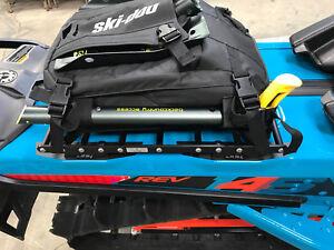 Ski-Doo LinQ 146+ Snowmobile Rack Luggage Cargo Rack, Slim Tunnel Bag Rack