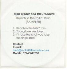 (AB931) Matt Maher & The Robbers, 'Beach' Sampler DJ CD