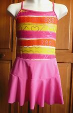 Girls Size 10-12 (Large) 1 Piece Swimsuit & Skirt Cover-up- New W/O Tags