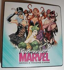 2013 Women Of Marvel 2: MASTER SET: Emerald, Case, Autograph, Rewards! + BV=$882