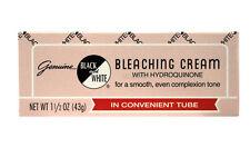 GENUINE BLACK AND WHITE BLEACHING CREAM 1.5 OZ. TUBE