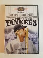 The Pride of the Yankees DVD 2002 Sealed Babe Ruth Gary Cooper