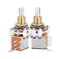 A500k Switch Pot Push Pull Audio Taper Electric Guitar Potentiometer Control NEW