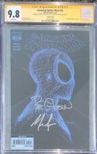 AMAZING SPIDER MAN #55 Web-head 3rd print CGC SS 9.8 - Signed Gleason & Spencer