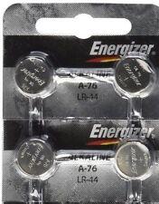 4 FRESH Energizer A76 LR44 AG13 L1154 G13 V13GA Alkaline Button Batteries