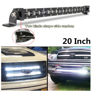 180W 18000LM 6500K Xenon White 6D Spot Beam Slim LED Work Light Bar For Car SUV