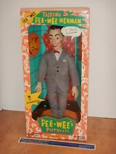 "1987 Matchbox Talking Pee Wee Herman Doll 17"" Nos, Factory, Nos, Works!"