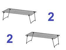 New! TWO (x2) Ikea FOLDING & STACKING SHOE / STORAGE RACKS- Grejig -403.298.68