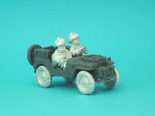 1st Corps 28mm WW2 Helmeted British Artillery Tow Airlanded Jeep . Jeep08.