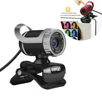 Webcam 480P HD Video Web Camera with Microphone USB 2.0  Plug and Play For PC