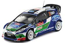 Spark S3311  Ford Fiesta RS WRC #3, Latvala 2012 Rallye Monte Carlo, Resin  1/43