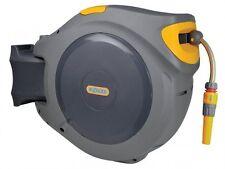 Hozelock - 2595 AutoReel Retractable Hose System + 40 Metres of 12.5mm Hose