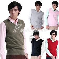 Unbranded Regular Size L V-Neck Sweaters for Men