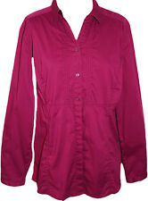 **NEU** Cecil long Stretch- Bluse Gr. 46 (XL) // beere // Bindeband hinten