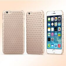 """Apple iPhone 6 6s 4.7"""" USAMS Hard Case Starry Series Hollow Stars Cover Gold"""