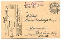 BAYERN FELDPOST 1916 3 versch. Kab.-Feldpostkarten m. versch. Feldpost-Stempel