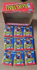 1989 Fleer Basketball  Lot of 9 SEALED Wax Packs with the ORIGINAL BOX - JORDAN?