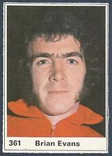 MARSHALL CAVENDISH TOP TEAMS 1971- #361-WALES & SWANSEA CITY-BRIAN EVANS