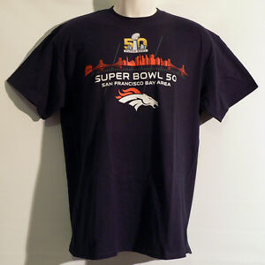 Denver Broncos T-Shirt - Peyton Manning - Superbowl - Football - NFL - Neu