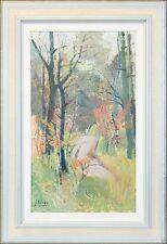 1950-1999 Originalgemälde (1900-1949) aus Leinwand mit Impressionismus auf Landschaft & Stadt