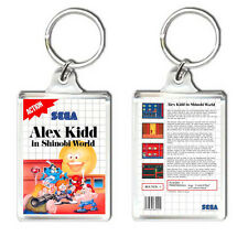 ALEX KIDD IN SHINOBI WORLD SEGA MASTER SYSTEM KEYRING LLAVERO