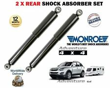 FOR VAUXHALL OPEL ANTARA 2006-> HEAVY DUTY REAR LEFT + RIGHT SHOCK ABSORBERS SET