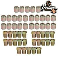 """3/16"""" Copper Brake Pipe Fittings 10x1mm 25 x Male & Female Metric Nuts 50 Pieces"""