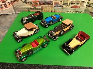 Matchbox Models of Yesteryear  die cast model cars