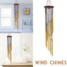 "21"" Metal Wind Chimes 16 Tubes Outdoor Decor Garden Bells Home Hanging Ornament"