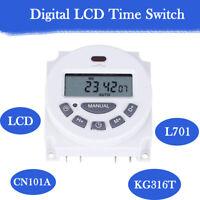 12V/24V/110V/220V LCD Digital Programmable Control Power Timer Switch Relay L701