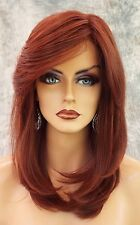 Spotlight  Lace Front Heat Friendly Monotop Wig Raquel Welch clr Deepest Ruby