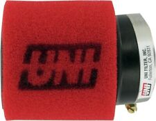 """Uni Air Filter Clamp On Pod 2-1/2 (63mm) ID x 4"""" Long Dual Stage (UP-4245AST)"""