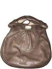 Marc by Marc Jacobs Hillier Taupe Pebbled Leather Hobo Shoulder Bag