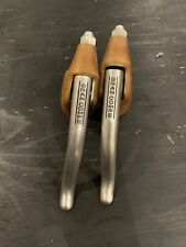 DIACOMPE GRAN COMPE BRAKE LEVERS VINTAGE 80s ROAD RACING COVERS
