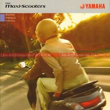 YAMAHA XP 500 Tmax YP 400 Majesty VP 300 Versity 2004 : Brochure Scooters #0038#