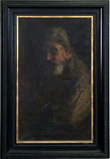 LISTED Alice Kent Pearson Stoddard OLD Impressionist Portrait Oil Painting NR