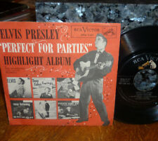 "*<* ELVIS 1956 ""PERFECT FOR PARTIES"": MAIL ORDER-ONLY PROMO EP w/PICTURE COVER!!"