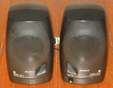 SONY SRS-A11 Active Speakers - Portable - Black - Desktop - Pair - VGC