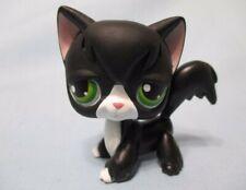 Littlest Pet Shop Cat Angora Tuxedo 55 Authentic Lps Head Spin