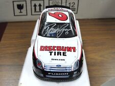Signed David Ragan 1:24 NASCAR #6 Discount Tire 2007 Fusion Limited Edition